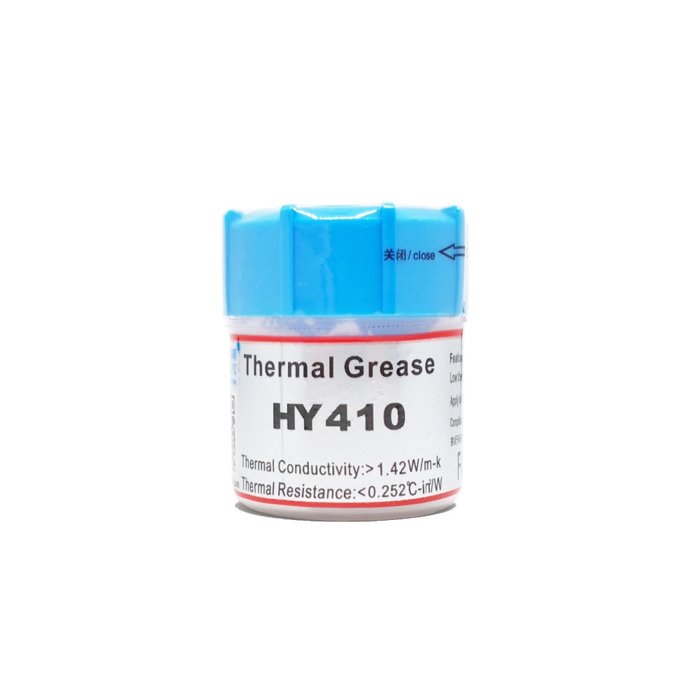 5PCS HY410 Processor Graphics Card CPU GPU Heat Sink Cooling Cooler Radiator Thermal Grease Composite Grease Silica