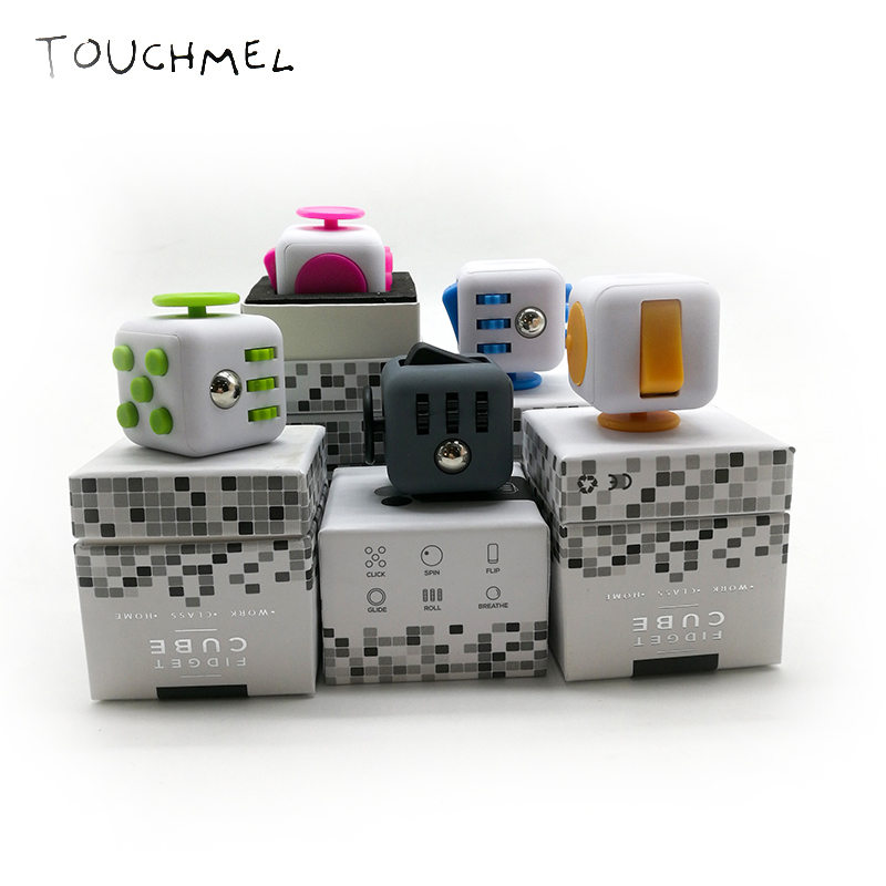 Sale Fidget Cube Toy to Ease the Pressure Stress Reliever Magic Cube Anti Stress Toys