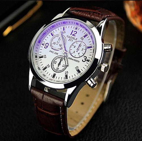watches leather brand casual waterproof wwoor quartz blue relogio mens watch clock sports products men belt masculino analog male s luxury