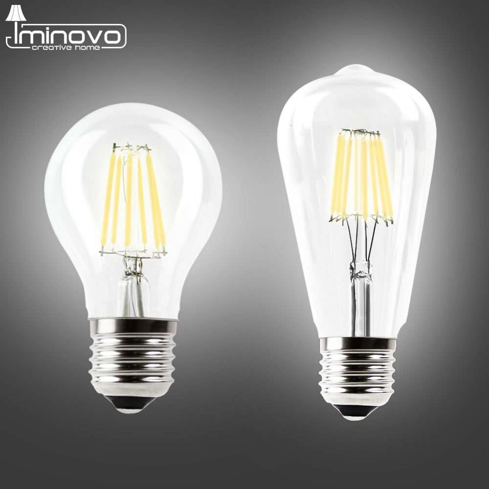 led filament bulb e27 e14 vintage edison lamp 220v 110v retro candle light globe ampoule. Black Bedroom Furniture Sets. Home Design Ideas