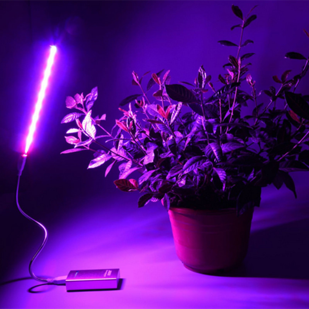 Lámpara De Crecimiento De Planta Led Usb 5 V 2,5 W Luces De Espectro Completo Planta De Flores Fito Lámparas De Crecimiento Para Invernadero Hidropónico Planta Sé Astuto En Asuntos De Dinero