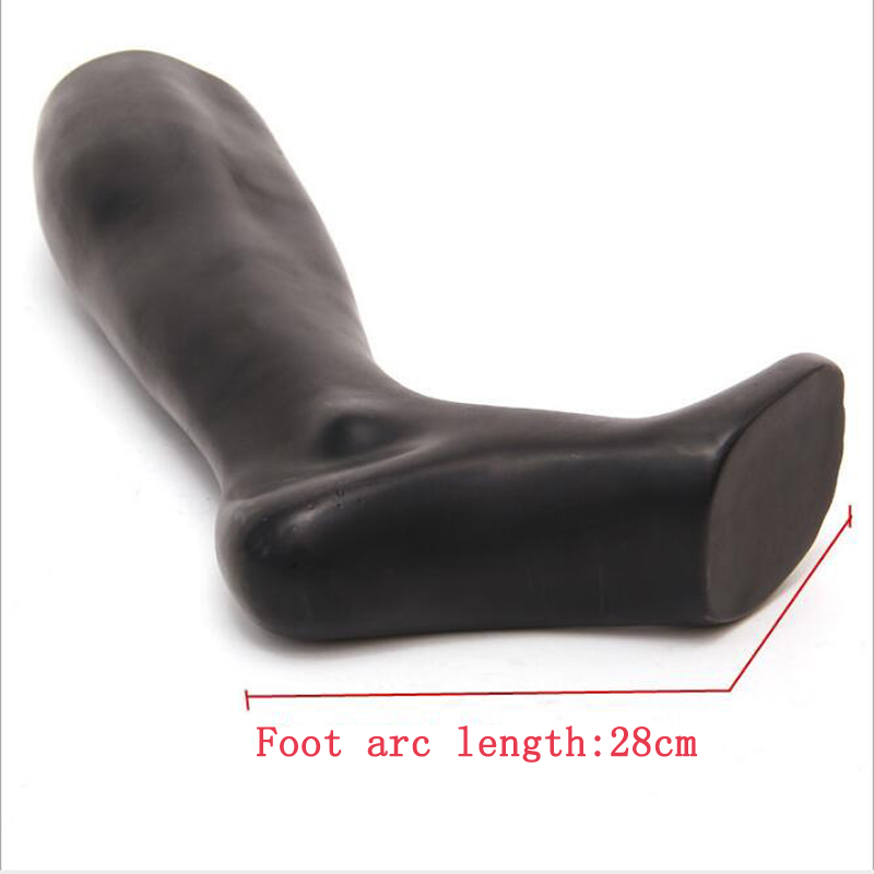 1Pcs White Left Mannequin Foot For Shop Window Display Shoes Football Socks Feet Mannequin Mold With High Quality in Mannequins from Home Garden