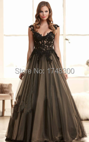Popular Gothic Evening Gown-Buy Cheap Gothic Evening Gown lots ...