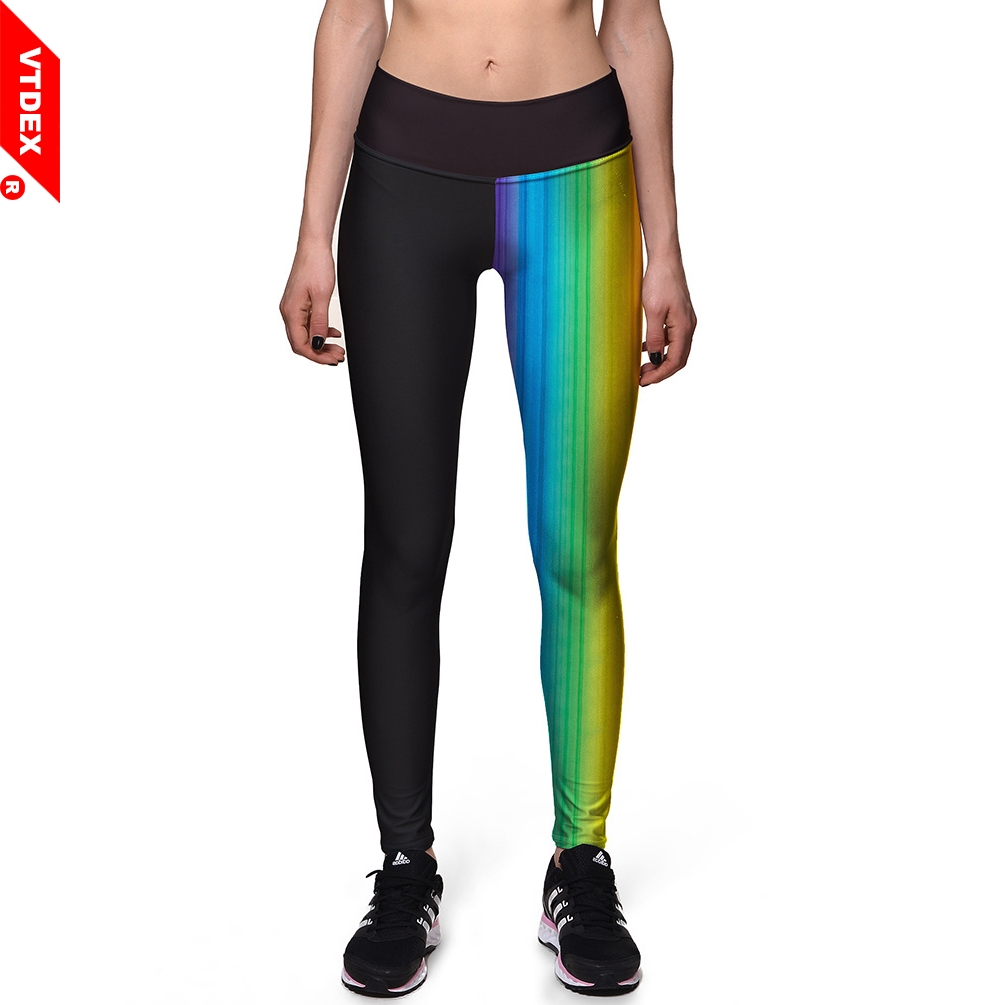 e4674ede84be8 VTDEX High Waist Yoga Pants FItness Leggings Running 3D Print Sports GYM  Clothing Skinny Women Jogging Pants Plus Size 3XL