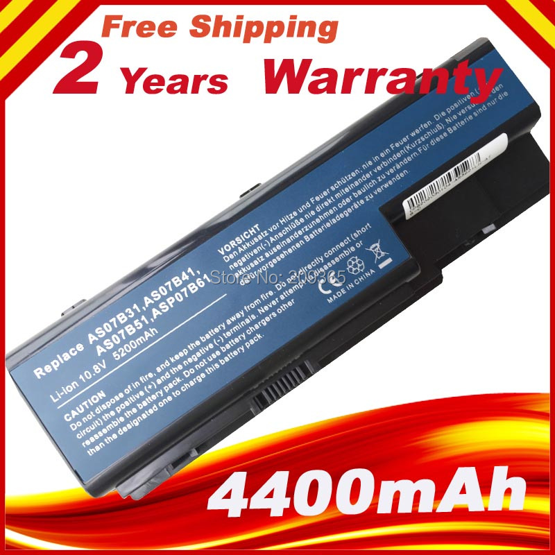 11.1V Battery For ACER  Aspire 7535 7720 7730 7735 7736 7738 7740 Series TravelMate 7230 7530 7530G Laptop