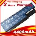 Bateria para acer aspire 7535 7720 7730 7735 7736 7738 7740 série travelmate 7230 7530 7530g laptop