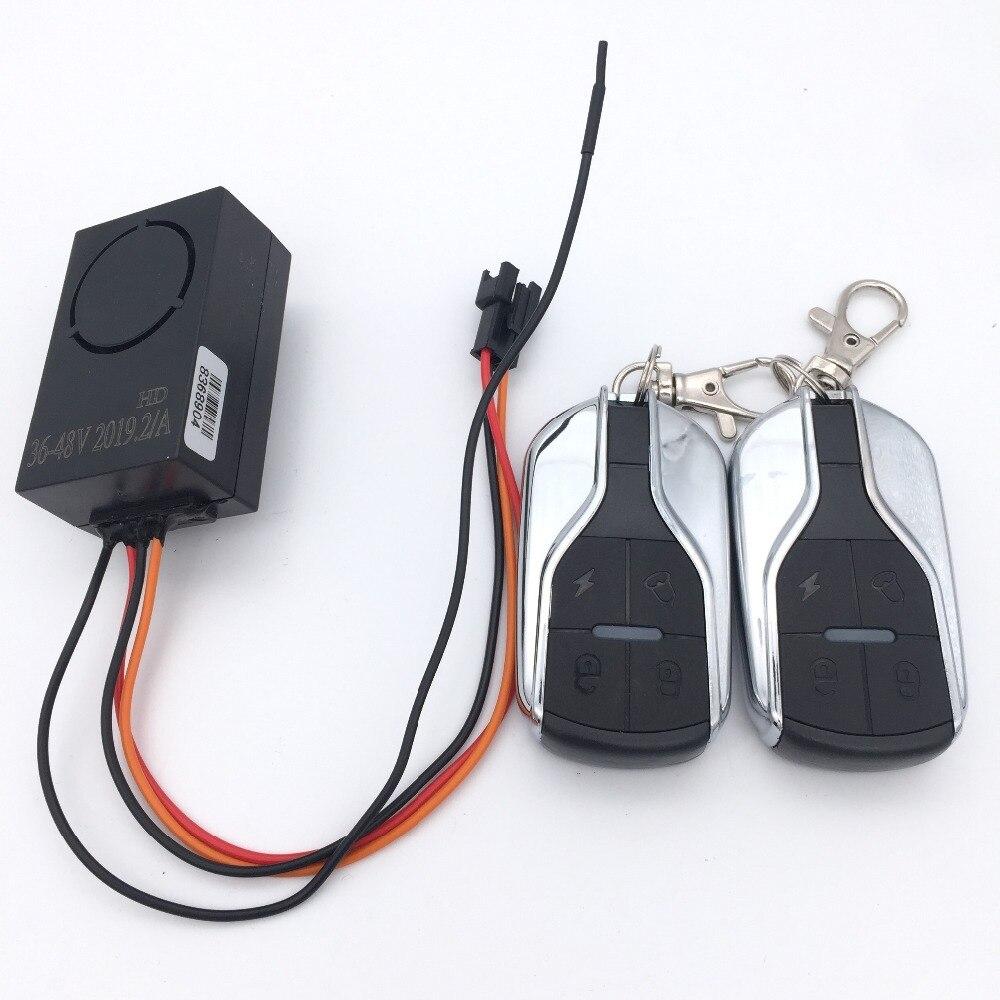 盗難警報 HH S12 電動スクーター  グループ上の スポーツ & エンターテイメント からの スクーター用パーツ & アクセサリー の中 2