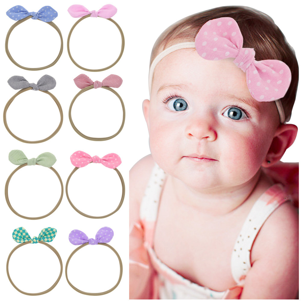 baby girl headband Infant hair accessory Dot Rabbit Bunny ear Tie bows newborn Headwear tiara headwrap Toddlers bandage Ribbon baby girl headband Infant hair accessory Dot Rabbit Bunny ear Tie bows newborn Headwear tiara headwrap Toddlers bandage Ribbon