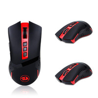 USB Wireless Gaming Mouse Professional Optical Mause 4800 DPI 9 buttons Laser Ergonomic For Overwatch Gamer Mice Computer L619
