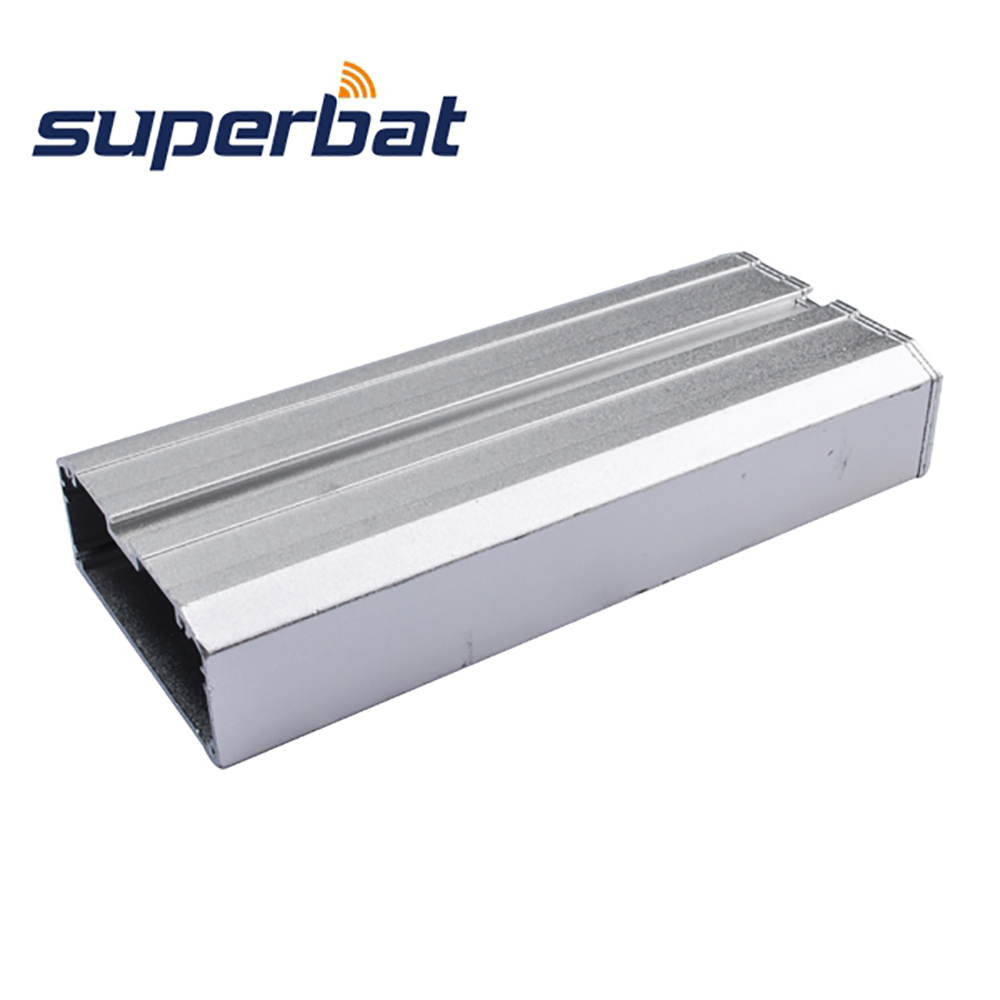 High Recommended 110*49*20mm Silver Aluminum Junctioin Box Electronic Project Amplifier PCB Enclosure Case 4.33″*1.93″*0.79″ NEW