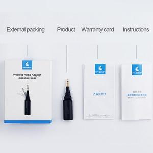 Image 5 - Hagibis 블루투스 수신기 송신기 3.5mm aptX LL 2in1 블루투스 5.0 음악 어댑터 헤드폰 스피커 무선 오디오 TV