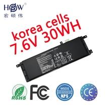 Original Battery 7.6V 30WH for Asus X453 B21N1329 (X553MA) laptop batteria akku  batterie эмаль лакра нц 132 белый 0 7кг арт нц 132 бел 0 7