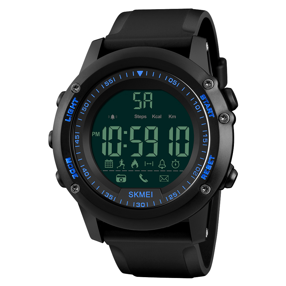US $19 99 50% OFF|SKMEI Sports Men Smart Watch Intelligent 5ATM Water  resistant Call APP Reminder Remote Camera Sports Tracker BT Smart  Bracelet-in