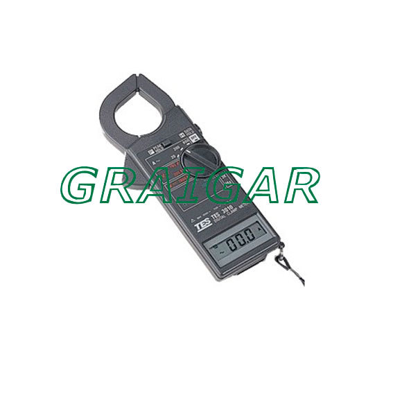 Free shipping sales promotion ACA 20A 200A 600A Prof. Clamp Meter /TES-3010 Prof. Clamp Meter