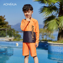 AONIHUA Kids Swimsuits Baby Cute Bathing Suits Boy Swimsuit  For Clothing Rash Guard Toddler Swimwear Beach 1034