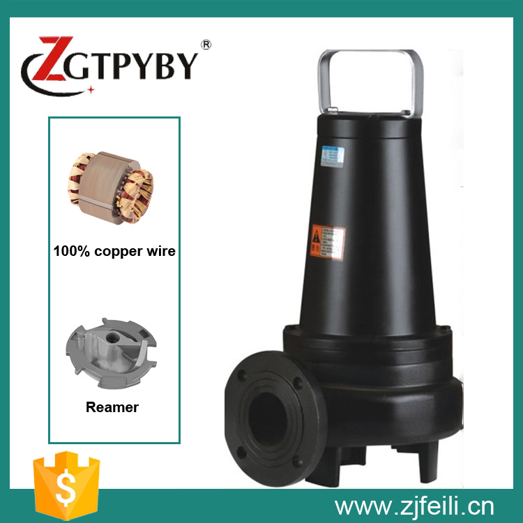 5.5kw cutting sewage pump submersible dirty water pump submersible waste water pump submersible pump sewage pump sewage pump cutting submersible sewage pumps