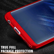 H&A Luxury 360 Degree Full Cover Phone Case For Samsung Galaxy S8 Plus Shockproof Cover For Samsung Note 8 S7 Edge S7 Case Capa