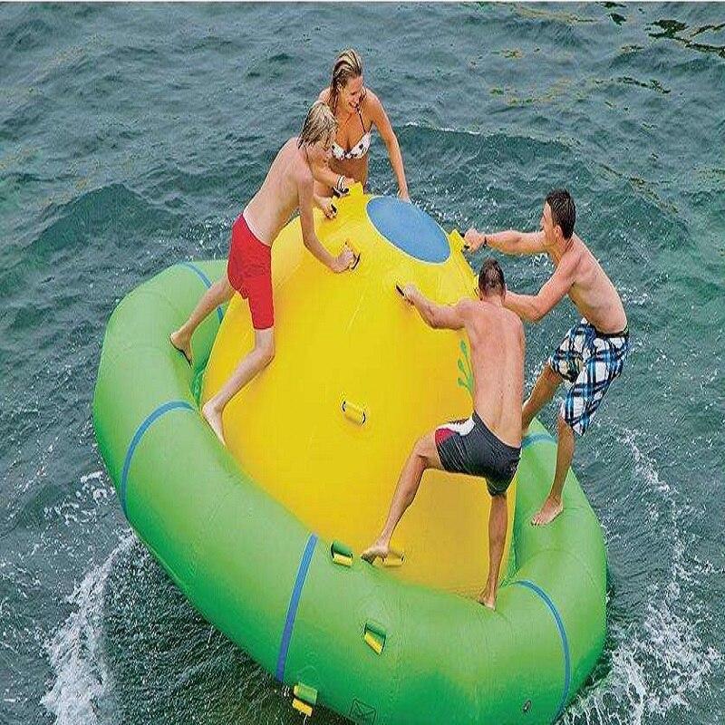 Água gyro 3.0*1.8 M parque de jogar o jogo da água brinquedo inflável da água do verão brinquedos da água