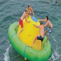 Eau gyro 3.0*1.8 M jeu d'eau jouant jouet gonflable été parc aquatique jouets d'eau