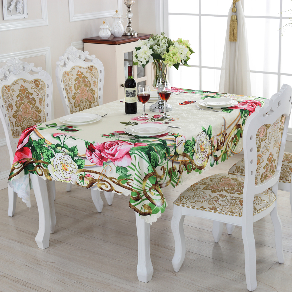 2016 New Creative Pattern Rectangular Tablecloths