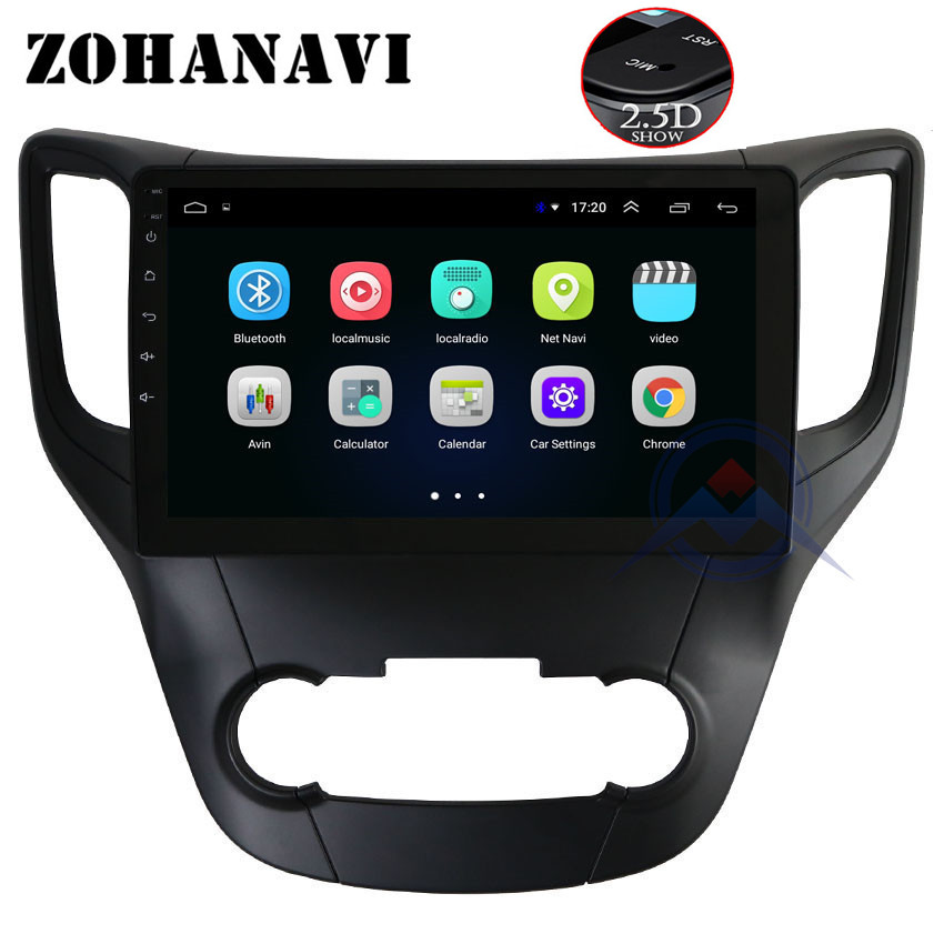 ZOHANAVI 10.2 inch Android 8.1 2.5D Car radio for Changan CS35 Car Stereo Radio Audio DVD GPS Player Navigation with maps