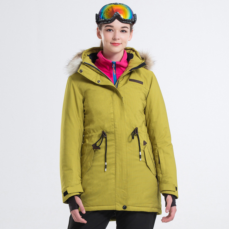 New Outdoor Winter  Snowboard Suit For Women Ski Jacket Windproof Warm Breathable Thick Female Hiking Snow Suit S-2XLNew Outdoor Winter  Snowboard Suit For Women Ski Jacket Windproof Warm Breathable Thick Female Hiking Snow Suit S-2XL