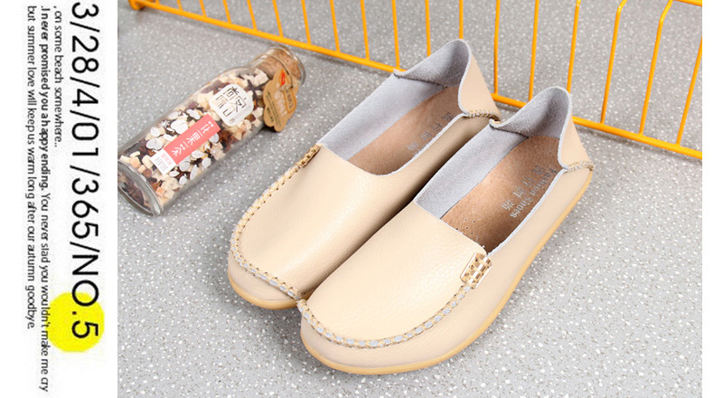 AH912 (13) women's loafers shoe