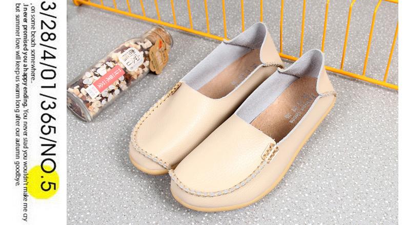 AH912 (13) women's loafers shoe