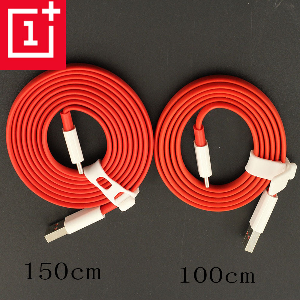 Oneplus 6 cable original 4a quick usb type-c 100/150cm dash charger cable noodles fast data line for oneplus 6t 6 5t 5 3t 3