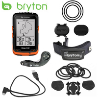 Bryton Rider 530 GPS Bicycle Bike Cycling Computer & Extension Mount ANT+ Speed Cadence Dual Sensor Heart Rate Monitor