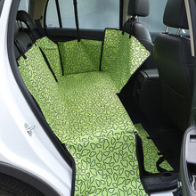 ФОТО new arrive luxury waterproof pets automobiles pad car back two seater pets pad oxford cloth dog pad hammock for animals in car