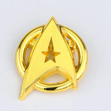 Capitano StarTrek Badge cosplay costume spilla in metallo Accessori prop(China)