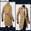 2017 Brand Sexemara New Arrival Business & European Style Slim Fit High Quality Wind Coat Autumn Popular Men WITH GIFT