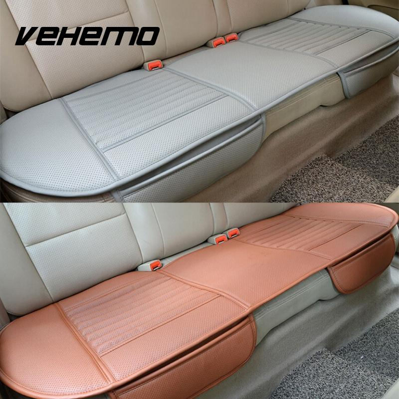 buy vehemo 4 colors pu leather car vehicle interior long rear seat cushion. Black Bedroom Furniture Sets. Home Design Ideas