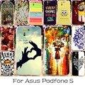 22 DIY Мягкие TPU Silicon Mobile Phone Case Для Asus Padfone S PF500KL 5 дюймов Задней Обложки Anti-knock Freeshipping Оболочки Корпуса