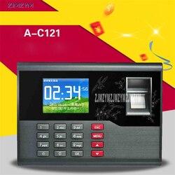 A-C121 TCP/IP biometryczny czytnik linii papilarnych system nagrywania biuro zegar czasu pracownik maszyna dla systemu kontroli dostępu system 12 V