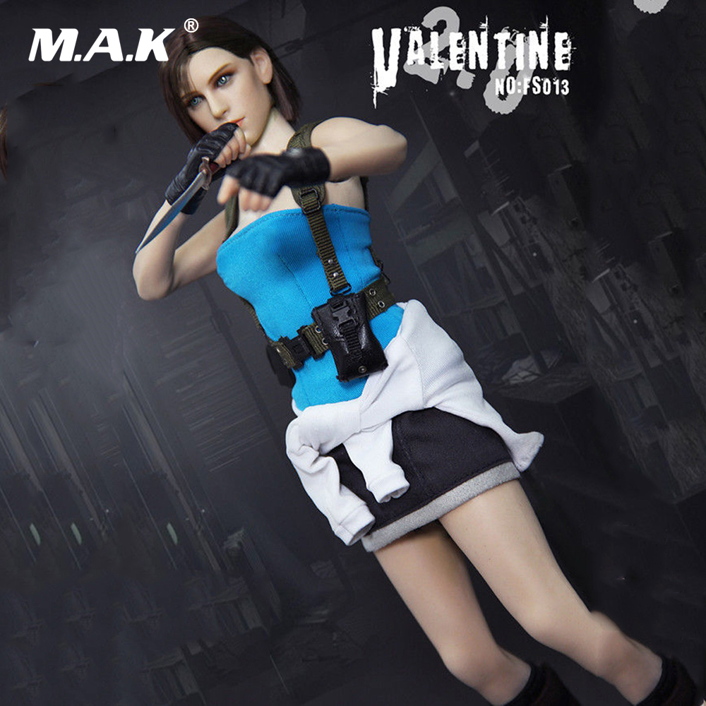 цена на 1/6 Full Female Figure FS013 Resident Evil Jill valentine Game Ver. Figure Model Toys for Collection Gift