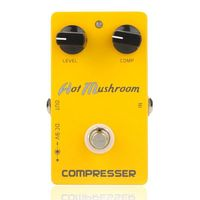 ABLD Caline CP 10 Compressor Guitar Effect Pedal Hot Mushroom Aluminum Alloy Housing Ture Bypass Orange