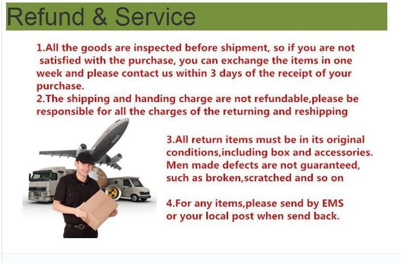 refund&service