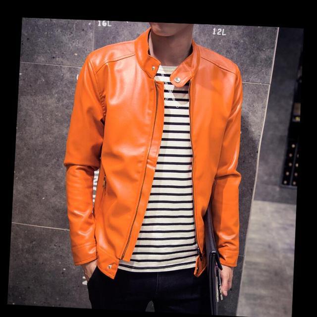 Мужчины Твердые Тонкий Мотоцикл куртки Хип-Хоп стиль Кожаные Куртки Новый Мужской моды И Пиджаки Пальто одежда Из Кожи Тонкий и толстый