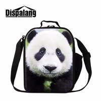Latest Animal Lunch Cooler Bag for Children Panda Lunch Bags 3D Pattern for Girls School Cute Insulated Lunch Container for Kids