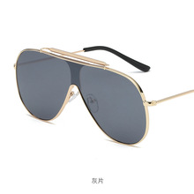 88faf20193 MINCL/2018 nueva Ronda marco Vintage gafas de sol de las mujeres de gran  tamaño gafas de sol para hombres mujer tonos negro UV40.