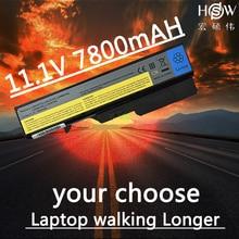 HSW  9cell Laptop Battery L09C6Y02 L09M6Y02 L09S6Y02 L10C6Y02 L10P6Y22 LO9L6Y02 For Lenovo IdeaPad G460 G560 V360 V370 V470 Z460 цена 2017