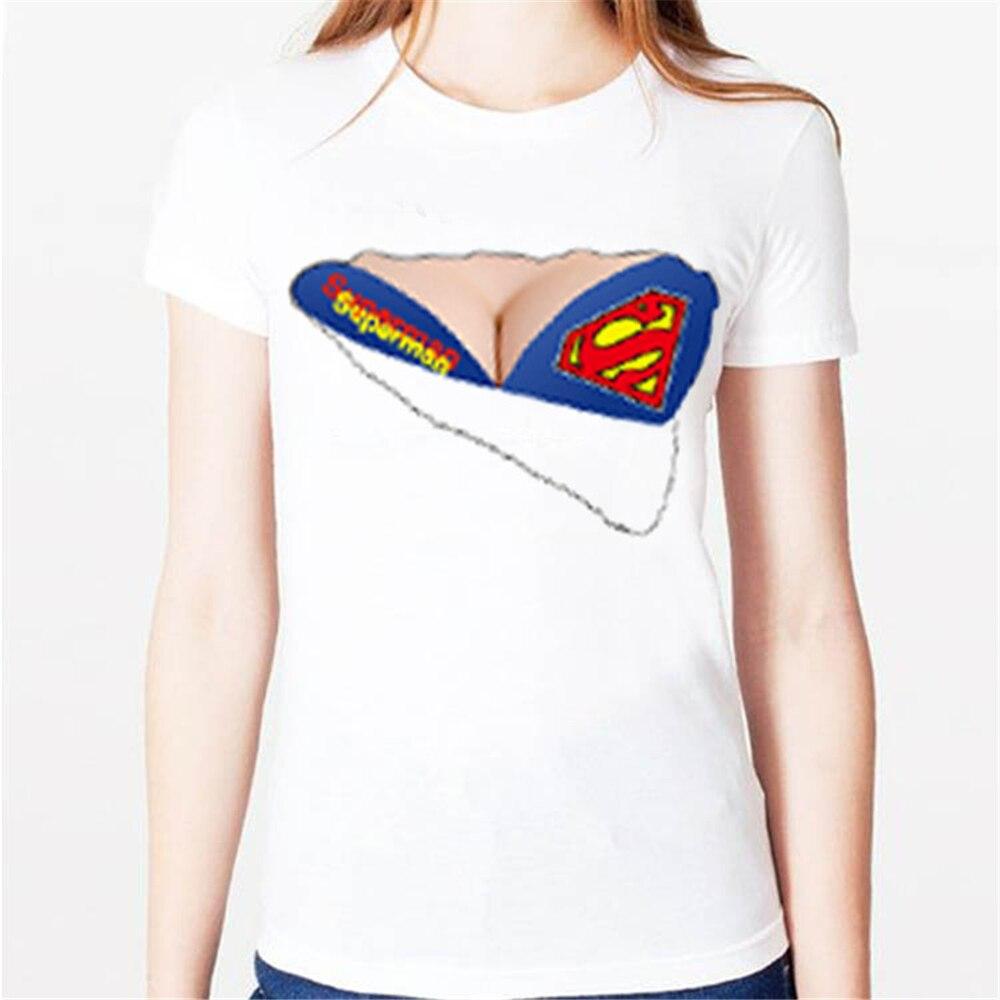 3d superman camisetas de mujer rasgado sujetador bandera for T shirt design no minimum