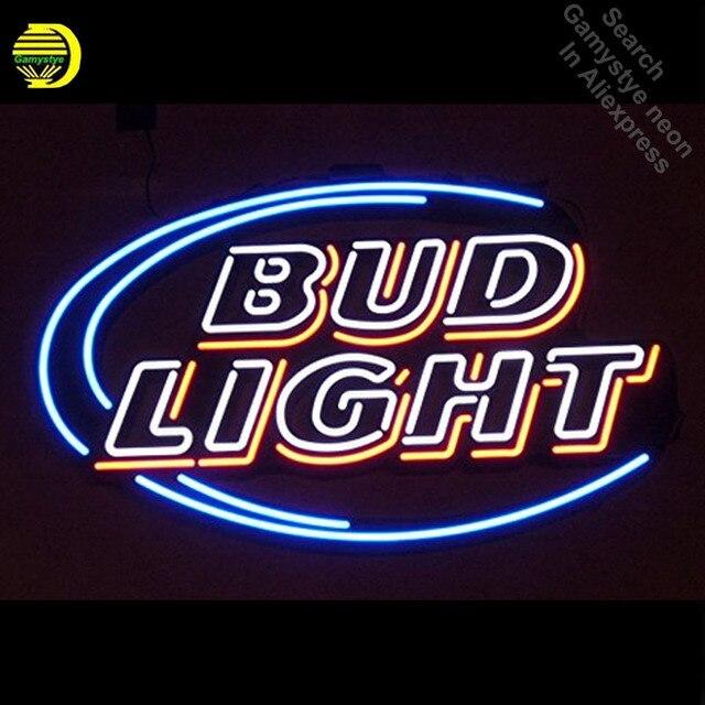 Bud Light Neon Sign Neon Light Sign Real Glass Tube