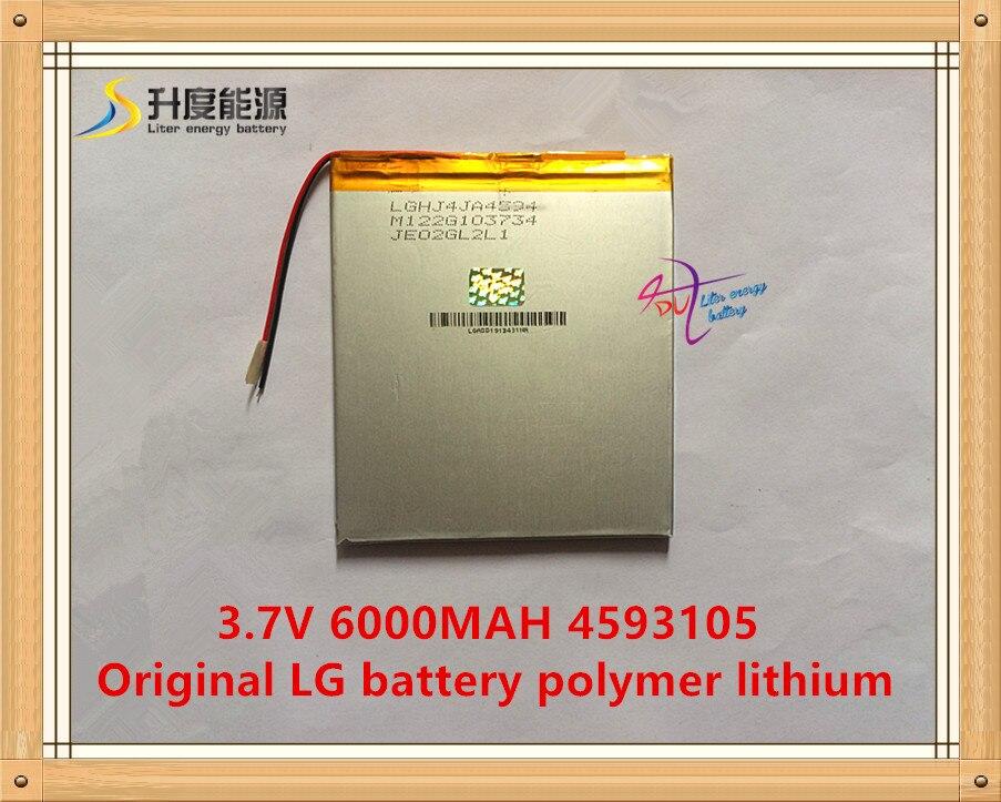 3 7V 6000mAH 4593105 Original L G battery polymer lithium ion battery SmartQ T20 VI40 AMPE