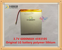 3 7V 6000mAH 4593105 Original L G Battery Polymer Lithium Ion Battery SmartQ T20 ONDA VI40