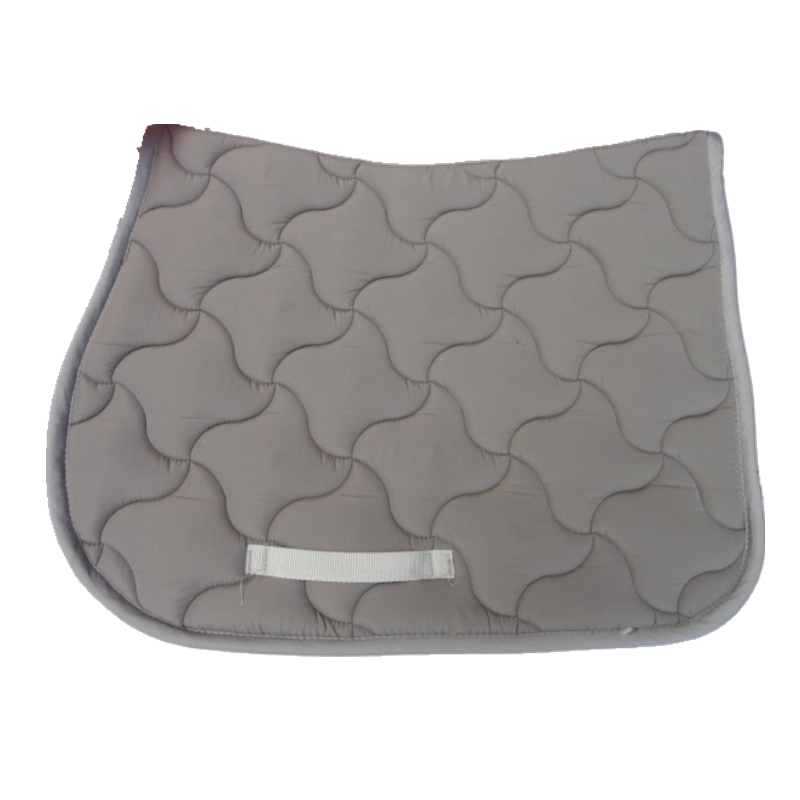 High Quality Quilted T/C Fabric Horse Saddle Pad  Jumping Saddle Pads English Tack Dressage Saddle Pad