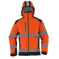 Высокое качество orange флисовая куртка высокая видимость светоотражающие безопасности куртка Рабочая одежда верхняя одежда Бесплатная дост