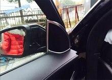Lapetus Car Styling Anteriore Pilastro UN Tweeter Altoparlante Audio Telaio di Copertura Trim 2 Pcs Per Mercedes-Benz GLC X253 2016 2017 2018 2019